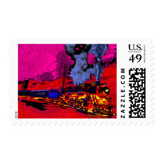 Come Ride the Hellbound Train! Postage Stamp