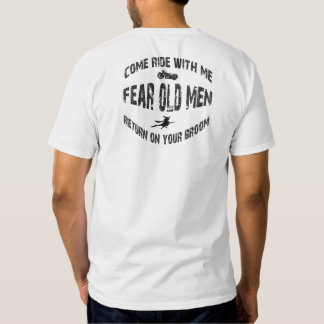 Come Ride With Me Return On Your Broom T Shirt