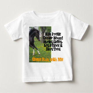"""""""Come Run With Me"""" Infant T Baby T-Shirt"""
