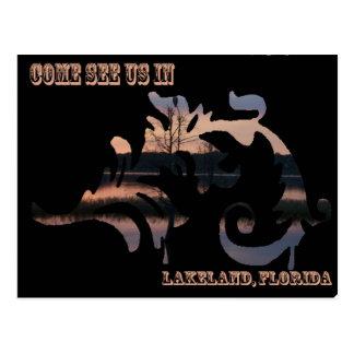 Come see us in Lakeland, Fl Postcard
