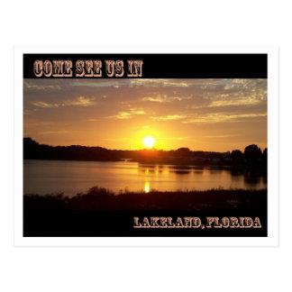 Come See Us Lakeland Florida Postcard   5