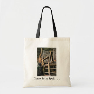 Come Set A Spell Rocking Chair Bag
