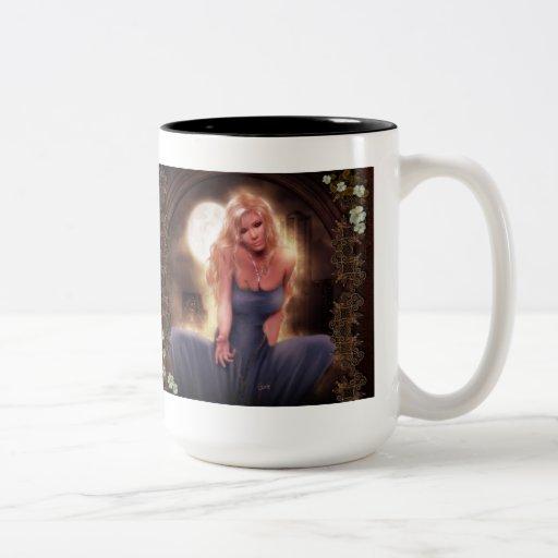 Come sit with me Two-Tone coffee mug