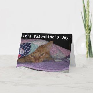 Come snuggle Valentine card