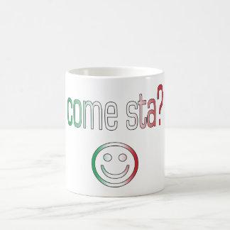 Come Sta? Italy Flag Colors Mug