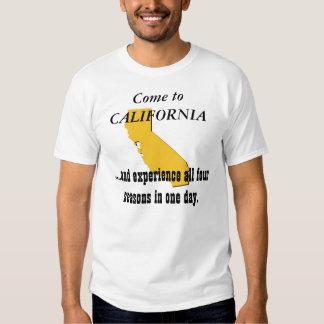 Come to CALIFORNIA T Shirt