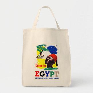 Come to Egypt Tote Bag
