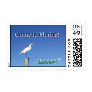 Come to Florida! Stamps