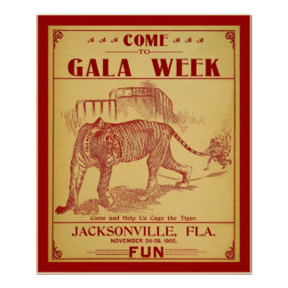 Come To Gala Week (1902) Poster
