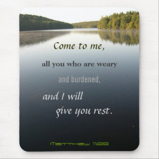 Come to Me, Christian Mouse Pad