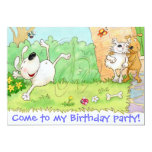 "Come to my Birthday party 5"" X 7"" Invitation Card"