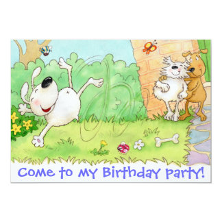 Come to my Birthday party Card