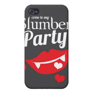 Come to my slumber party smile case for iPhone 4