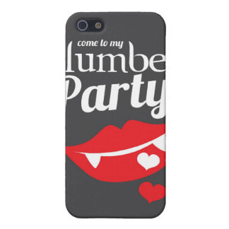 Come to my slumber party smile cover for iPhone SE/5/5s