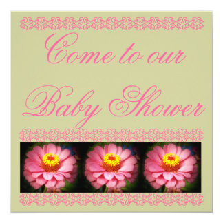 Come to Our Baby Shower Card