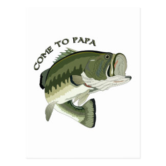 Come To Papa Postcard