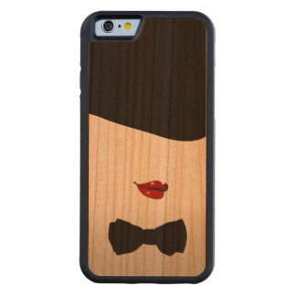 Come To The Cabaret Retro Carved Cherry iPhone 6 Bumper Case
