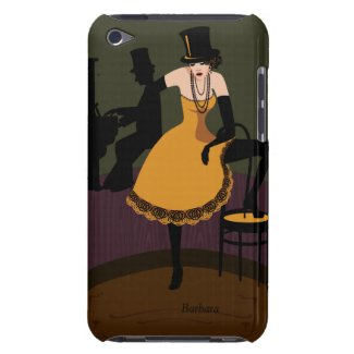 Come To The Cabaret RetroiPod Touch iPhone 3 Case