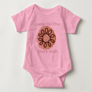 Come To The Dark Side! Baby Bodysuit