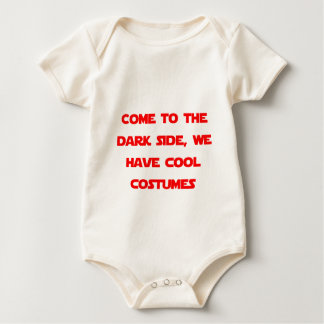 Come to the Dark Side Baby Bodysuit