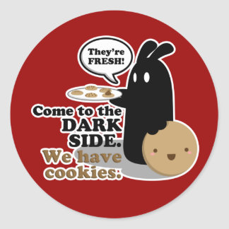 Come To The Dark Side. Stickers