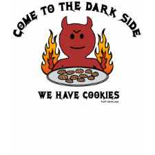 Come to the Dark Side t-shirt shirt