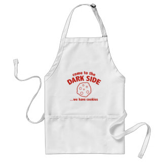 Come To The Dark Side ... We Have Cookies Adult Apron
