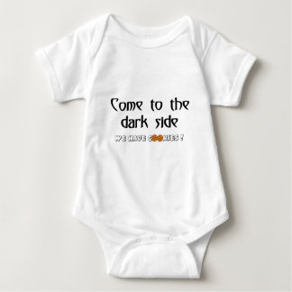Come To The Dark Side - We Have Cookies! Baby Bodysuit