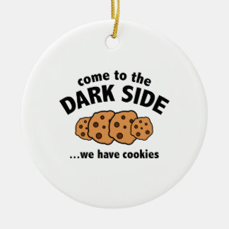 Come To The Dark Side We Have Cookies Christmas Tree Ornament