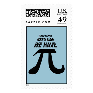 Come To The Dark Side We Have Pi Postage