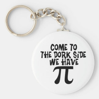 Come to the Dork Side...We have PI Keychain