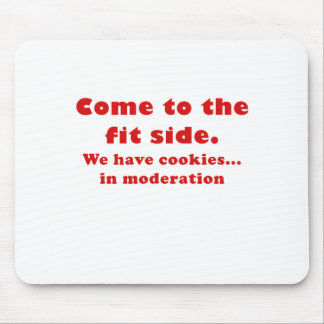 Come to the Fit side we have Cookies Mousepad