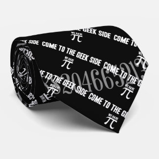 Come To The Geek Side for Pi Neck Tie
