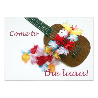 Come to the Luau! 5x7 Paper Invitation Card