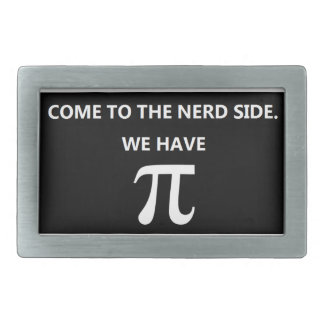 """Come to the nerd side"" Belt Buckle Black"