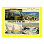 Come to the Seashore! Vintage Post Card