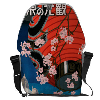 Come to Tokyo Courier Bag
