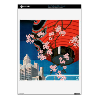 Come to Tokyo PS3 Slim Decals