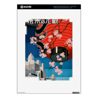 Come to Tokyo Skins For iPad 3