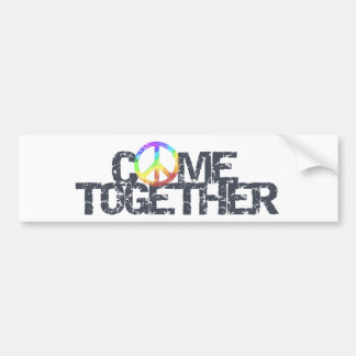 Come Together bumper sticker