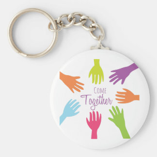 Come Together Keychain