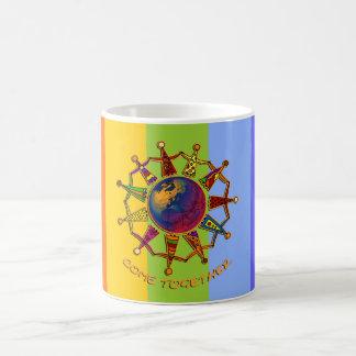 Come Together People | chakren colors Mug