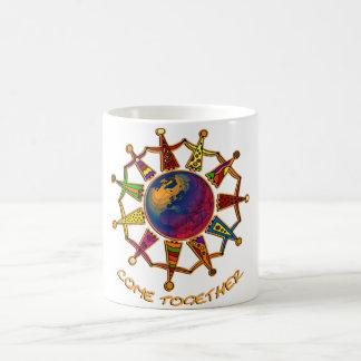 Come Together People Coffee Mug
