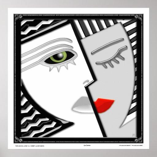 Come Together (Square Semi-Gloss Print)