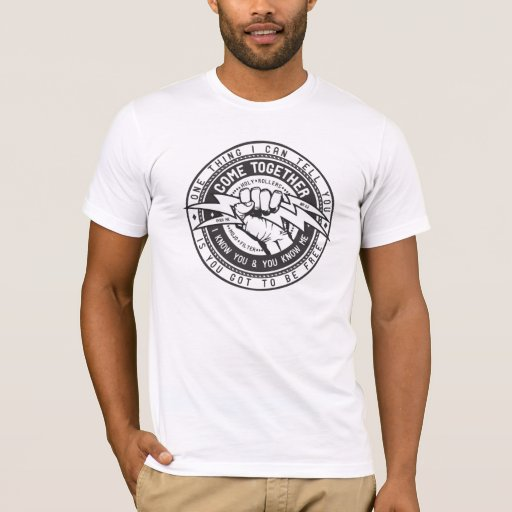 Come Together Union Logo T Shirt Zazzle