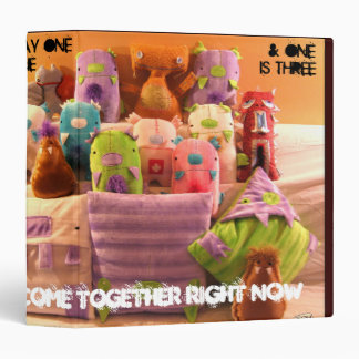 Come Together x Da Holy Rollahz 3 Ring Binder