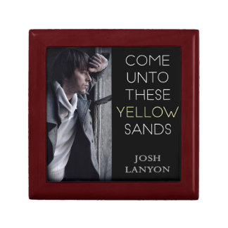 Come Unto These Yellow Sands keepsake box