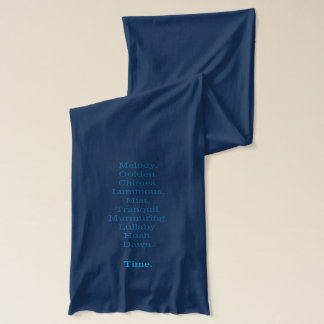 Come Unto These Yellow Sands scarf
