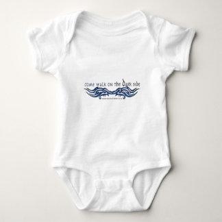 Come Walk on the DARK Side (2) Baby Bodysuit