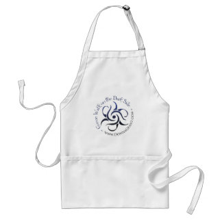 Come Walk on the DARK Side Adult Apron